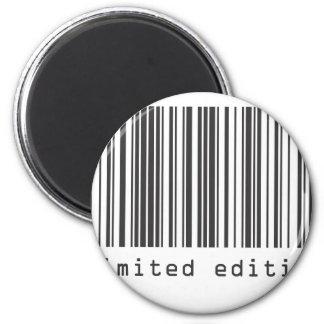 Código de barras - edición limitada imán redondo 5 cm