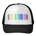 Código de barras gay gorros bordados