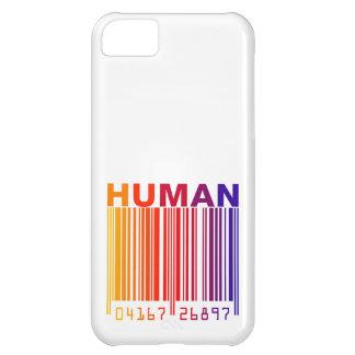 Código de barras humano funda para iPhone 5C