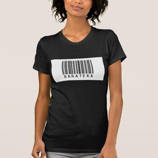 Código de barras Karateka Camisetas