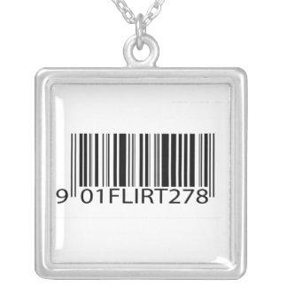 Código de barras - ligón colgante