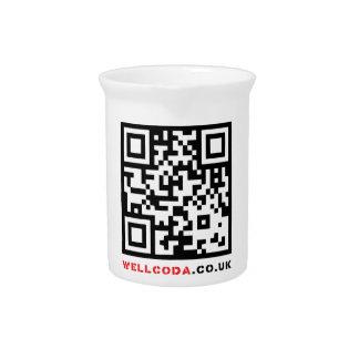 Código de barras neo del código de la ropa del jarra para bebida