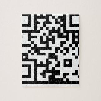 Código de barras neo del código de la ropa del puzzle