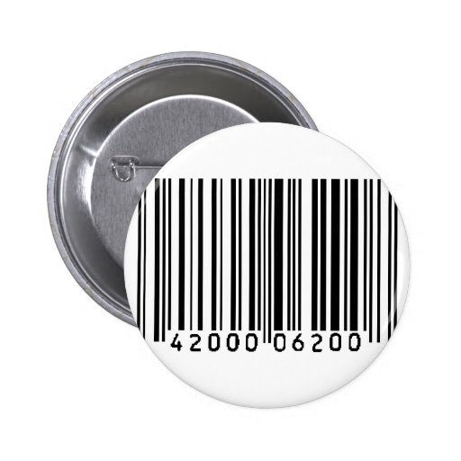 código de barras pins
