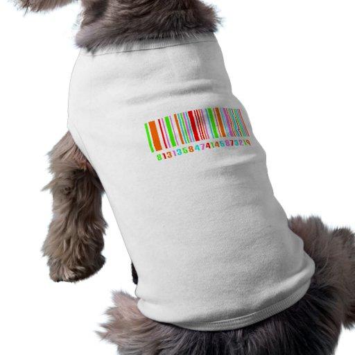 Código de barras camisetas de perro
