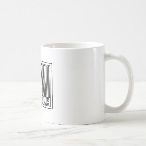 Código de barras solo taza de café