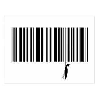 Código de barras tarjeta postal