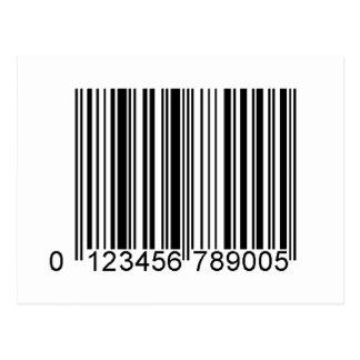 Código de barras tarjetas postales