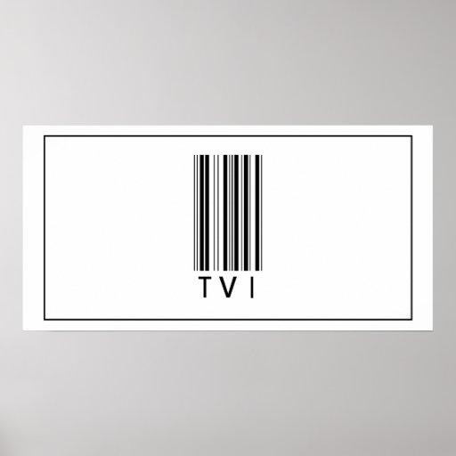Código de barras TVI Impresiones