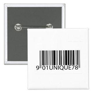 Código de barras - único pin