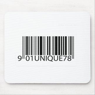 Código de barras - único alfombrilla de raton