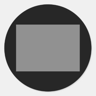 Código de color él imanes y materia - CricketDiane Pegatina Redonda