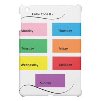 Código de color él - materia del diseñador de Cric