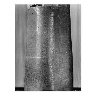 Código de Hammurabi, detalle de la columna Tarjetas Postales