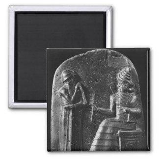 Código de Hammurabi, top del stele Imán Cuadrado