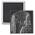 Código de Hammurabi, top del stele Iman