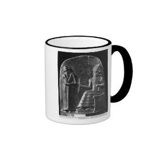 Código de Hammurabi, top del stele Taza
