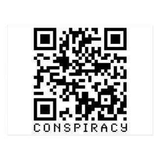 Código de la conspiración QR Postales