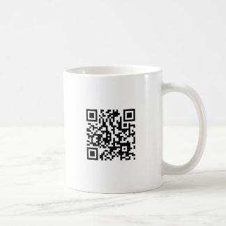 Código de la locura QR de Moondials Taza De Café