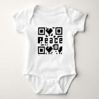 Código de la paz QR Playera