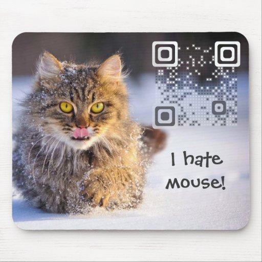 Código de Mousepad QR Alfombrillas De Ratón