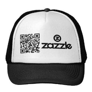 Código de QR de Zazzle Gorro De Camionero