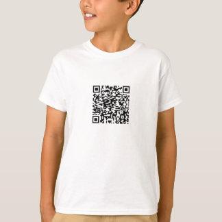 Código de QR (descripción leída) Playera