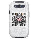 Código de QR el buey Samsung Galaxy S3 Carcasas