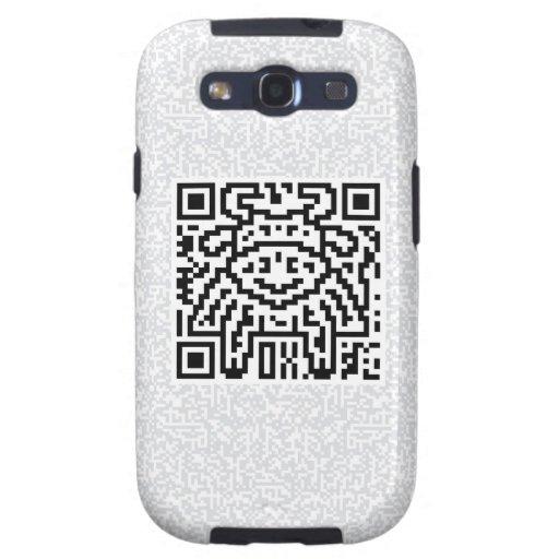 Código de QR el buey Samsung Galaxy S3 Cárcasas