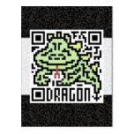 Código de QR el dragón Postal