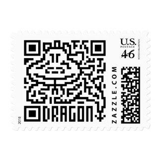 Código de QR el dragón