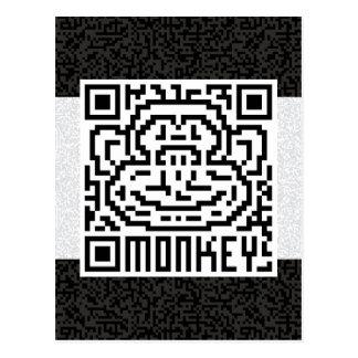 Código de QR el mono Postal