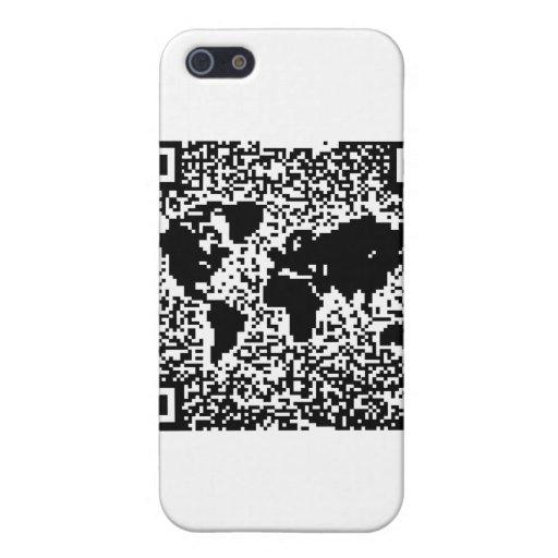 Código de QR - el mundo iPhone 5 Protector