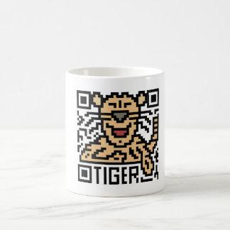 Código de QR el tigre Taza De Café