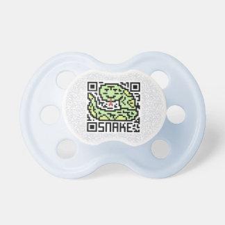 Código de QR la serpiente Chupetes De Bebé