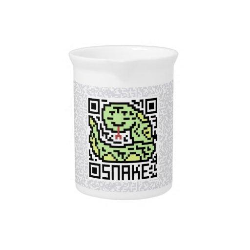 Código de QR la serpiente Jarras