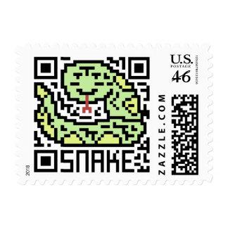 Código de QR la serpiente