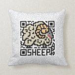 Código de QR las ovejas Almohada