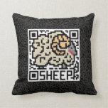 Código de QR las ovejas Almohadas