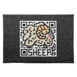 Código de QR las ovejas Manteles Individuales