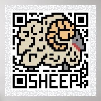Código de QR las ovejas Impresiones
