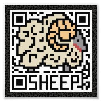 Código de QR las ovejas Arte Fotografico