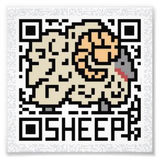 Código de QR las ovejas Foto