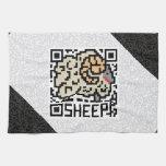 Código de QR las ovejas Toalla