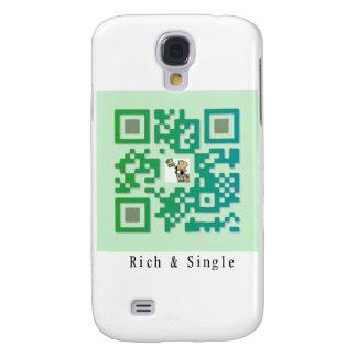 Código de Qr rico y solo Funda Para Samsung Galaxy S4