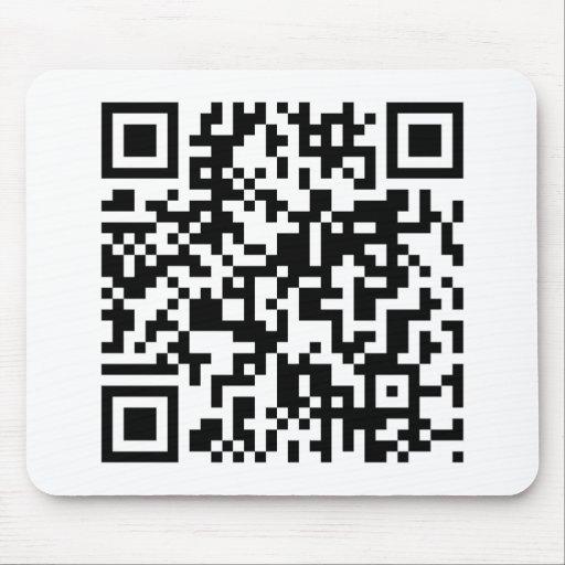 Código de QR Alfombrillas De Ratón