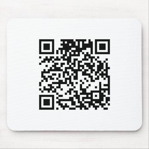 Código de QR Alfombrillas De Ratones