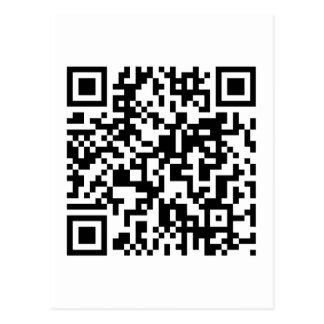 Código de QR Tarjeta Postal