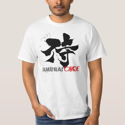 """Código del samurai """"el código del honor """" playera"""