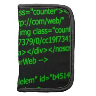 Código del Web Planificador